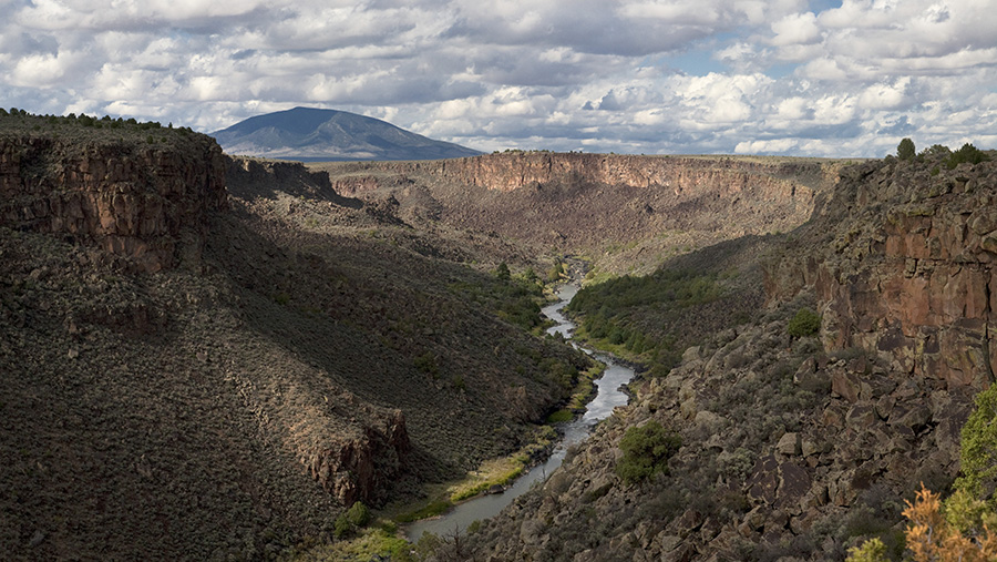 Photo of Rio Grande del Norte National Monument © Geraint Smith.  www.GeraintSmith.com