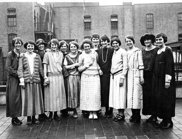 Elizabeth Waterman and Classmates, circa 1920s.jpg