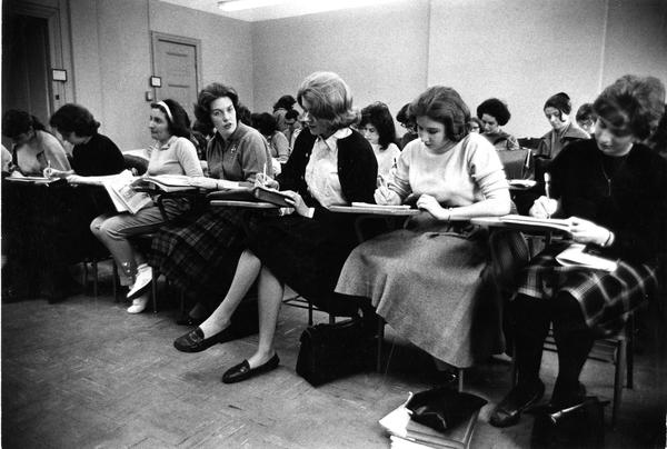 Students in class, circa 1950s.jpg