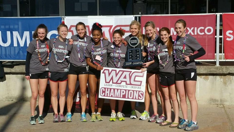 2014 WAC Cross Country Team Champions!