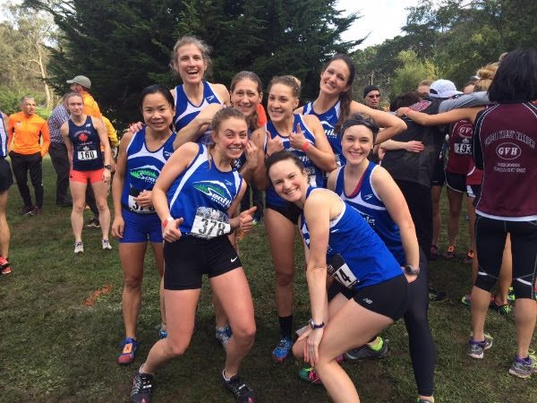 SRC Women's XC at Nationals 2015