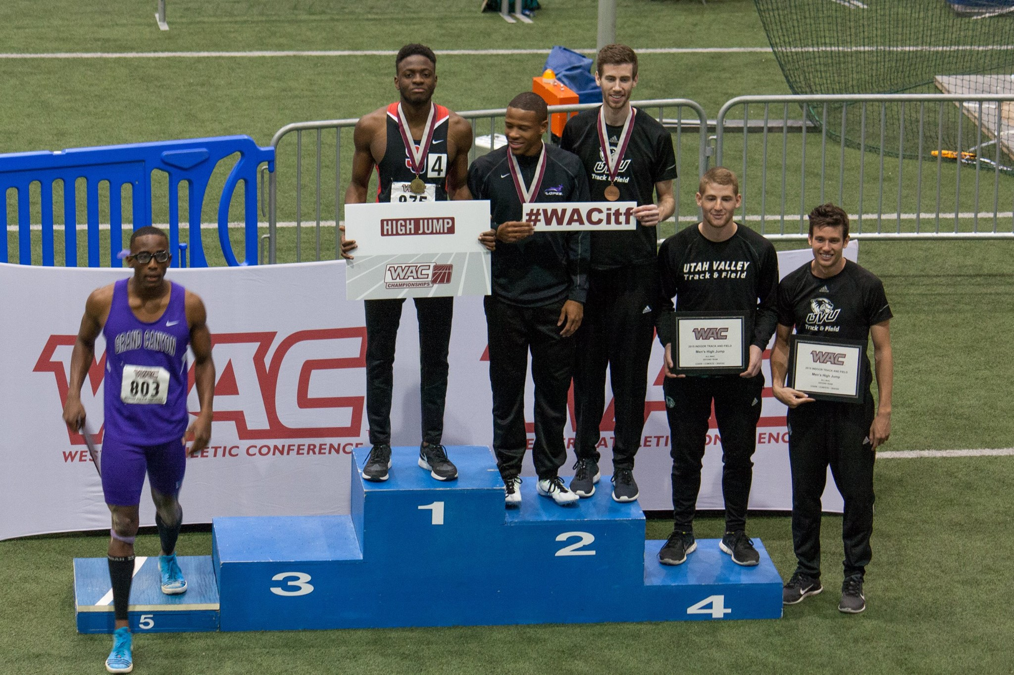 2015 WAC Indoor Track & Field Conference Championships