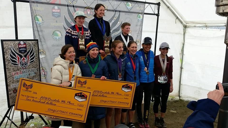 US 50k Trail National Championships Awards Ceremony