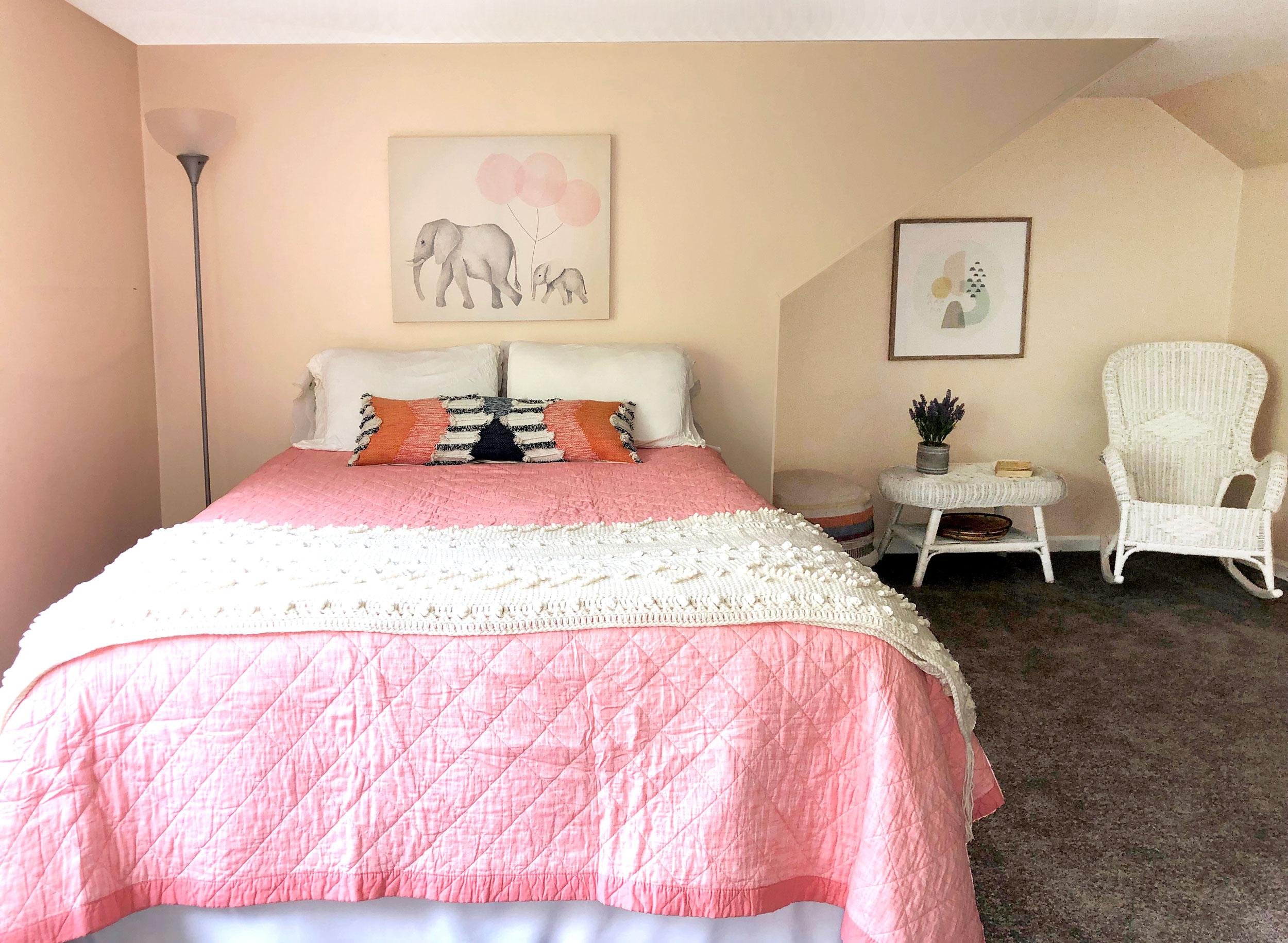 Bedroom: After