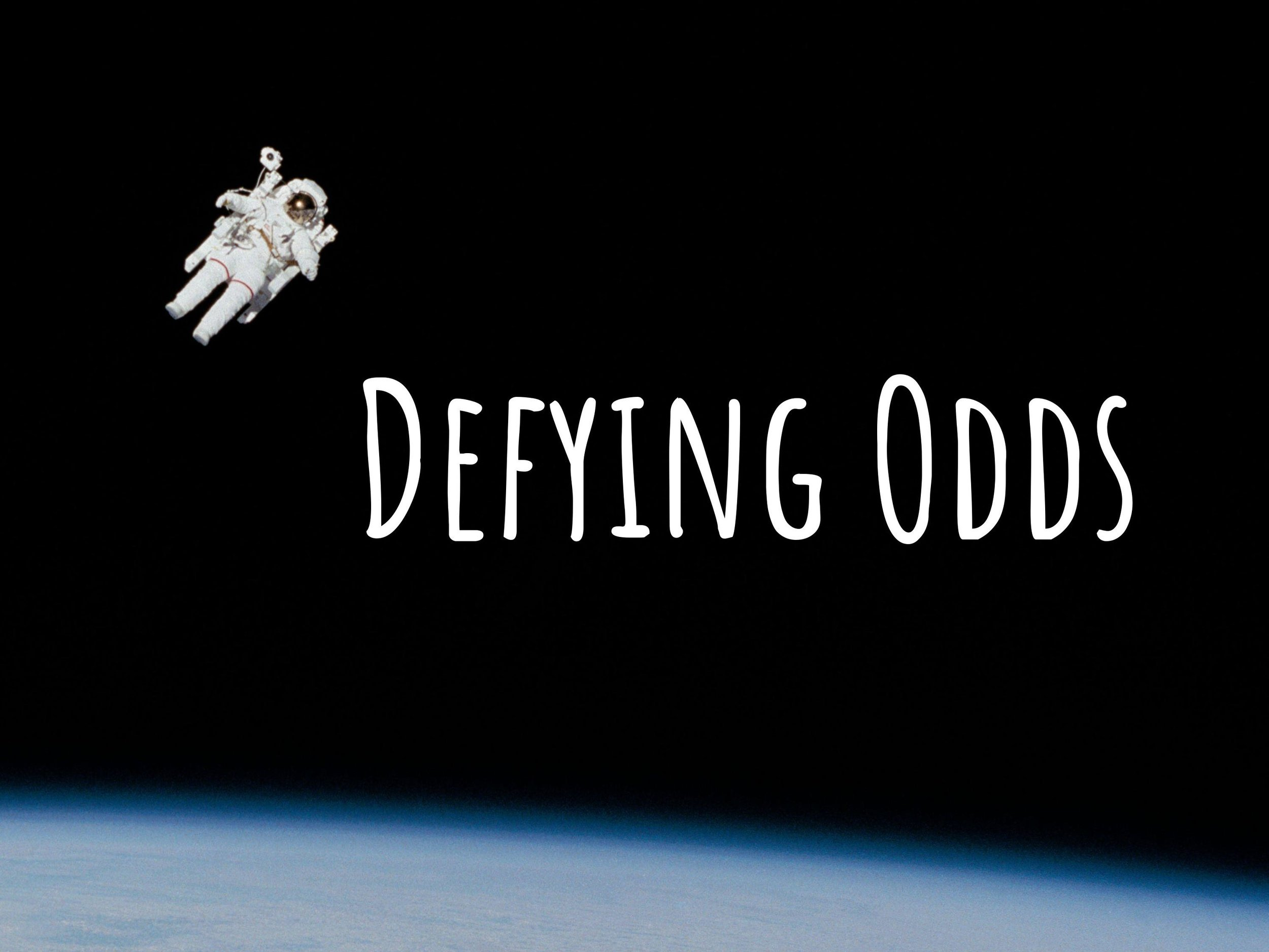 dEFYING ODDS PODCAST - This is a weekly podcast where I interview someone who has defied the odds in life, weather that be facing death, disease, addiction, homelessness.