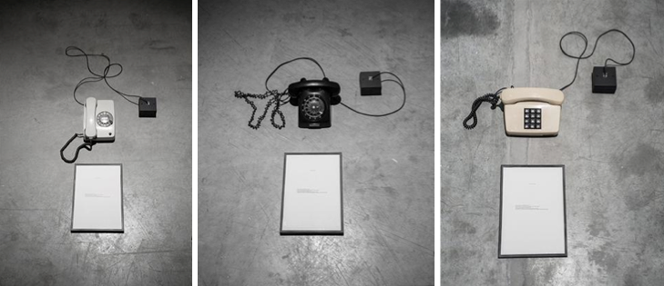 Charbel-joseph H. Boutros, Let it ring, 2014