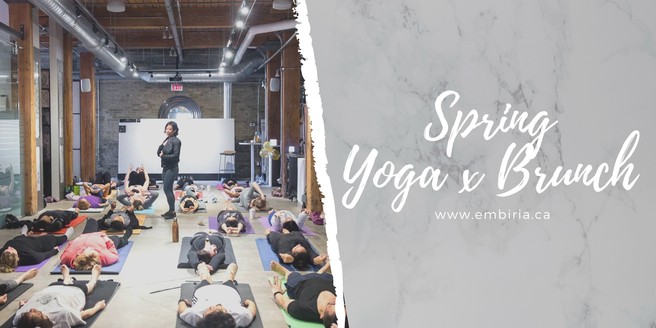 yoga and brunch toronto