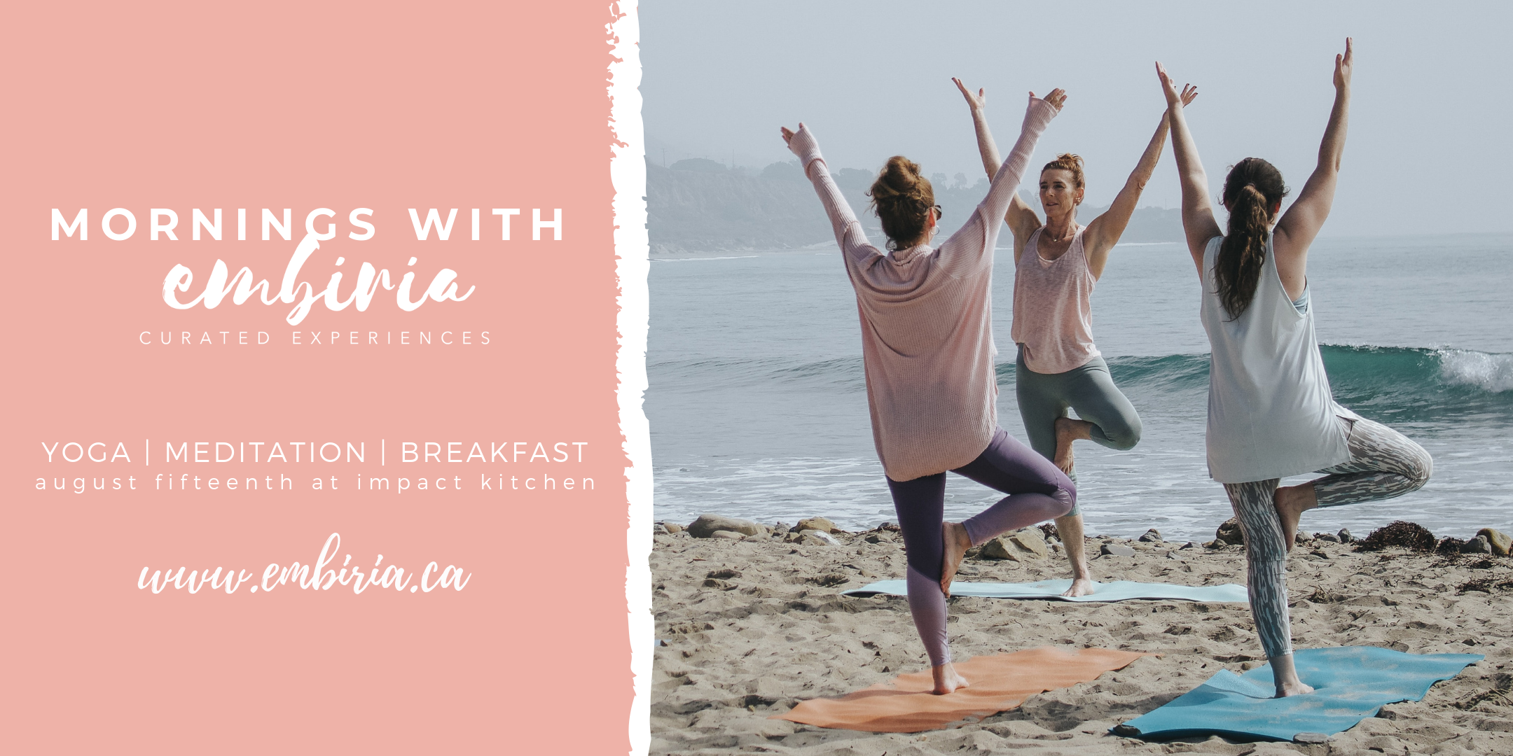 yoga and brunch workshop toronto