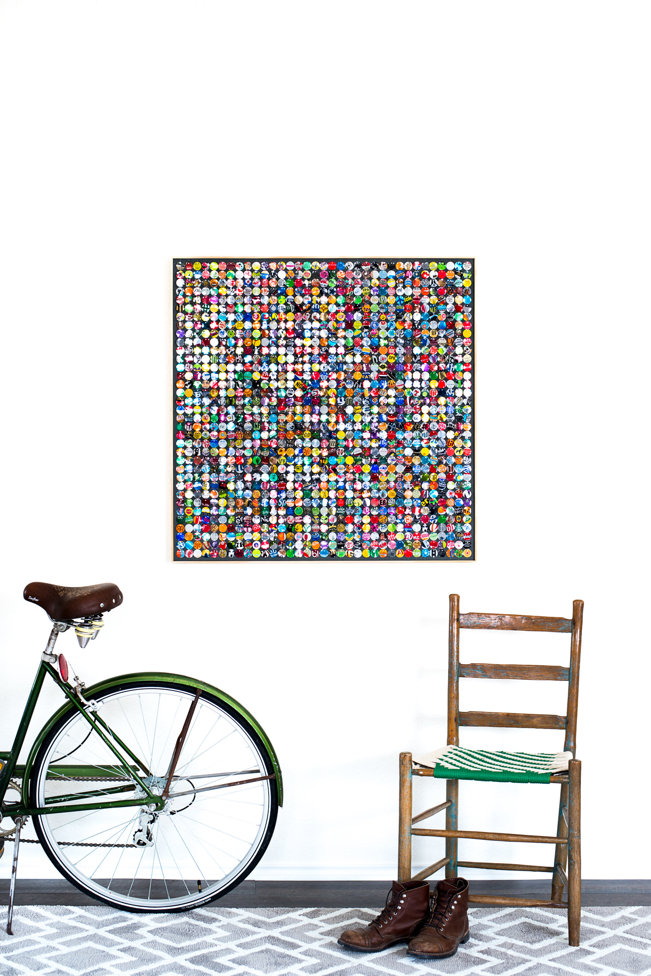 hannah-nemo-beer-can-recycled-moving-mosaic-chair-boots-bicycle-single-36x36.jpg