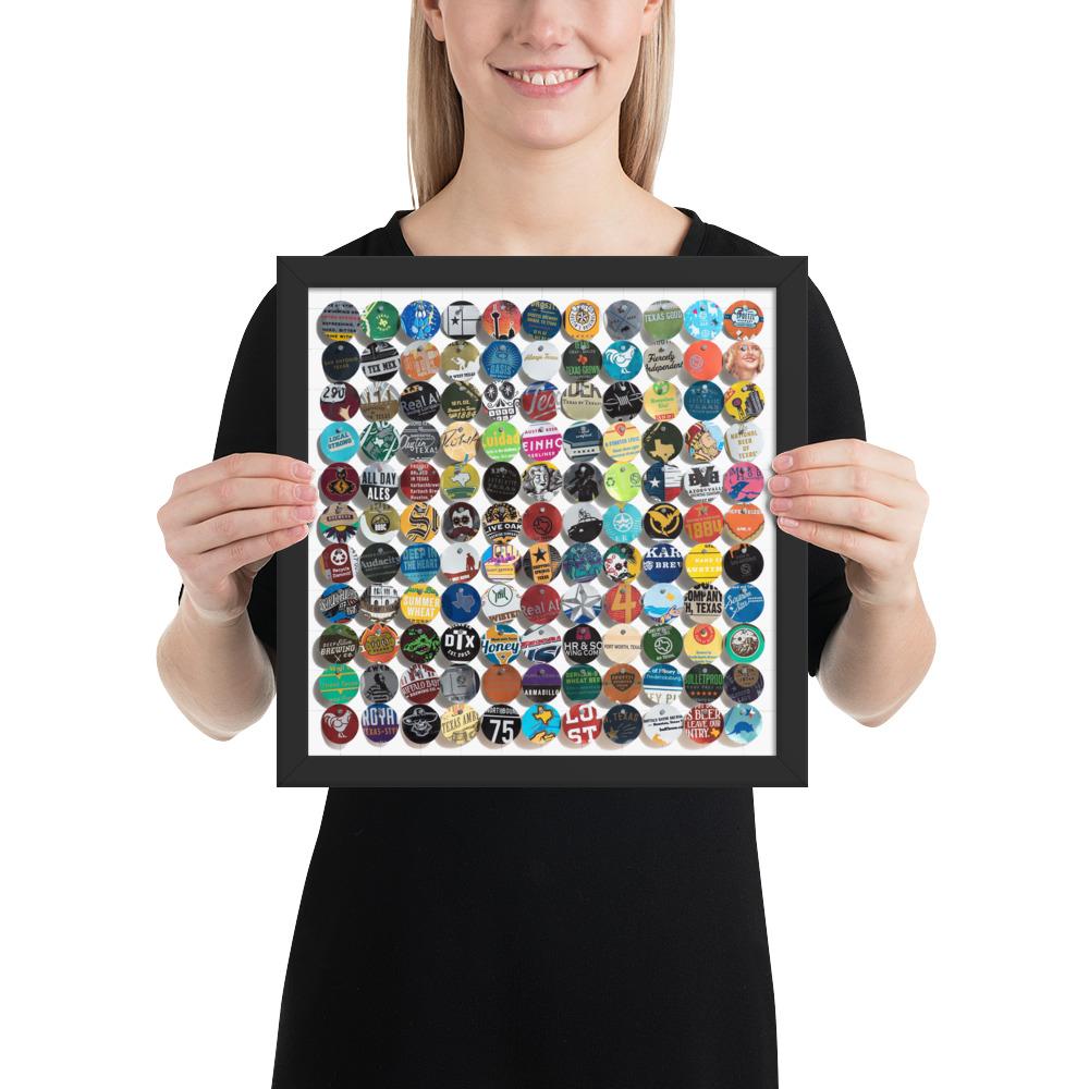 12x12 Framed - $35