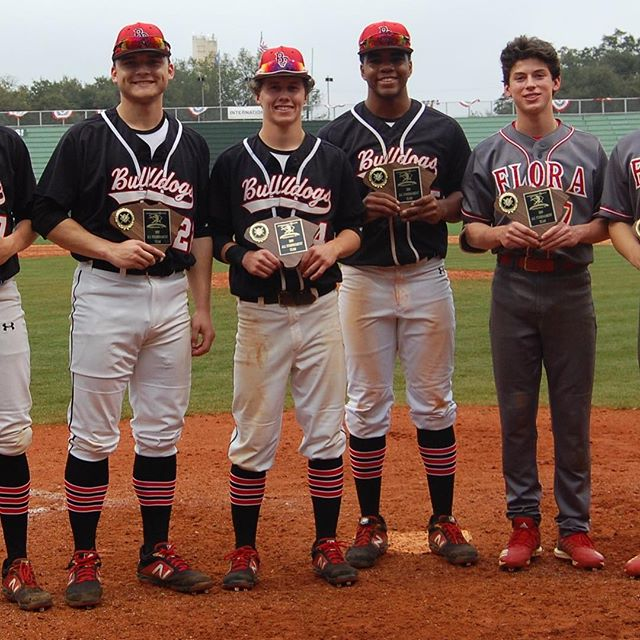 All Tourney from Boiling Springs and AC Flora are Blake Hansman, Dawson Taylor, Davis Brown, Aaron Thomas, Jack Reynolds, and Phillips Daniels