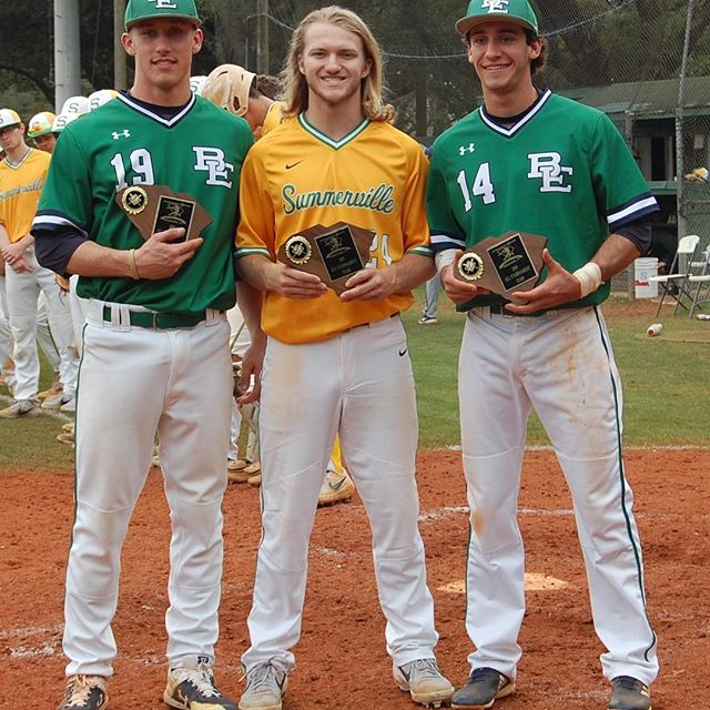 All Tourney from Bishop England and Summerville are Geoffrey Gilbert, AC Heaton, and Chris Dengler.