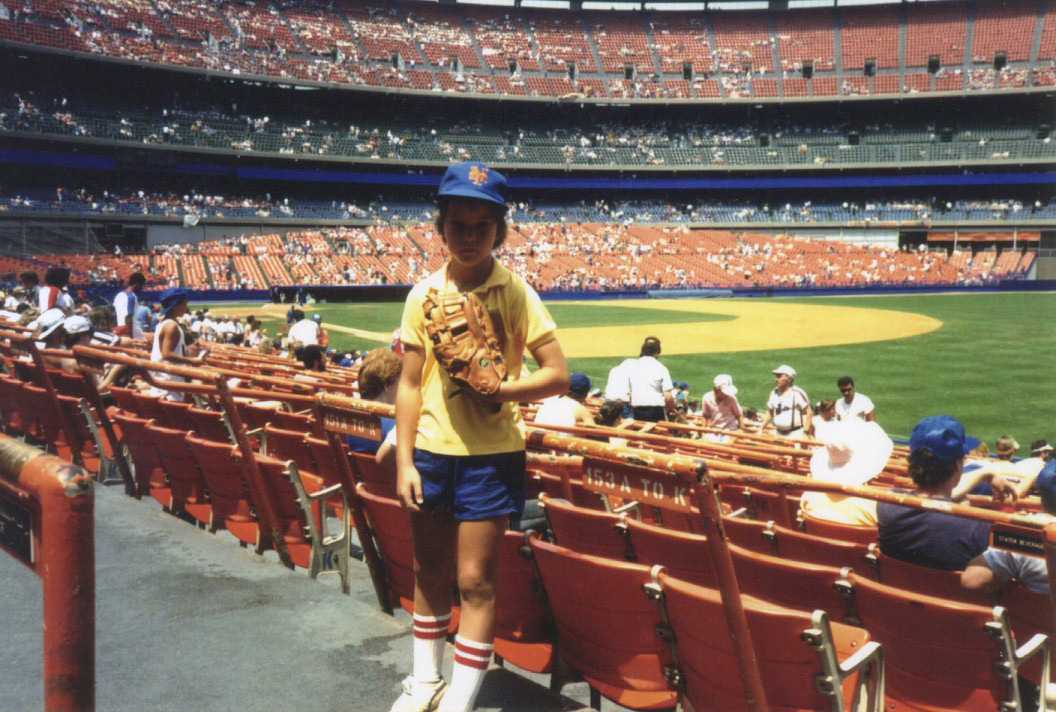 at Shea Stadium three years before I snagged my first ball