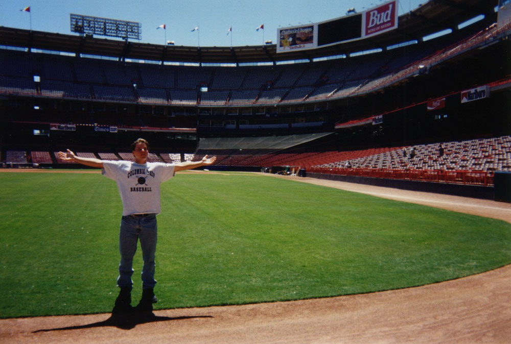 at Anaheim Stadium (as it was called back then)
