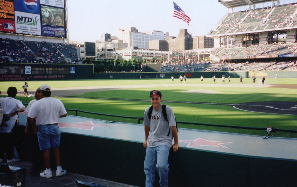 at Jacobs Field