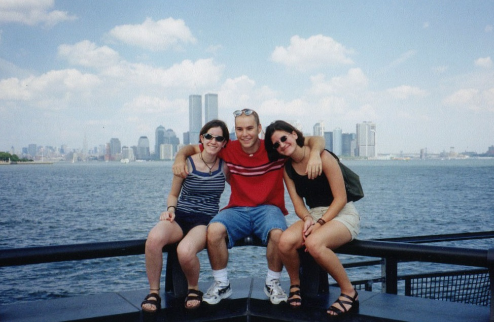 sightseeing in NYC with my Canadian friends Patty and Joy