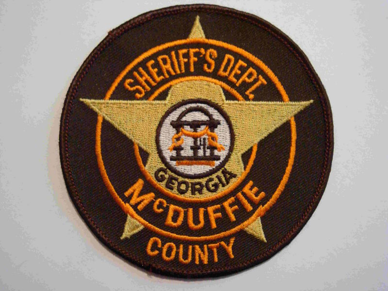 McDuffie County Sheriff's Dept.