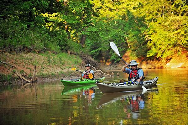 Kayak on Clarks Hill Lake