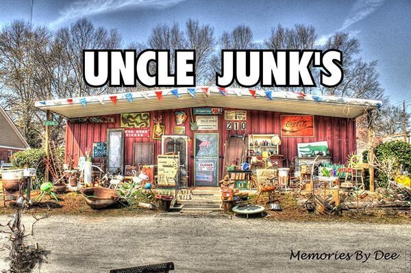 Photo via   AUNT TIQUE & UNCLE JUNK's