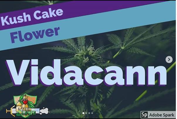 Kush Cake -  Vidacann