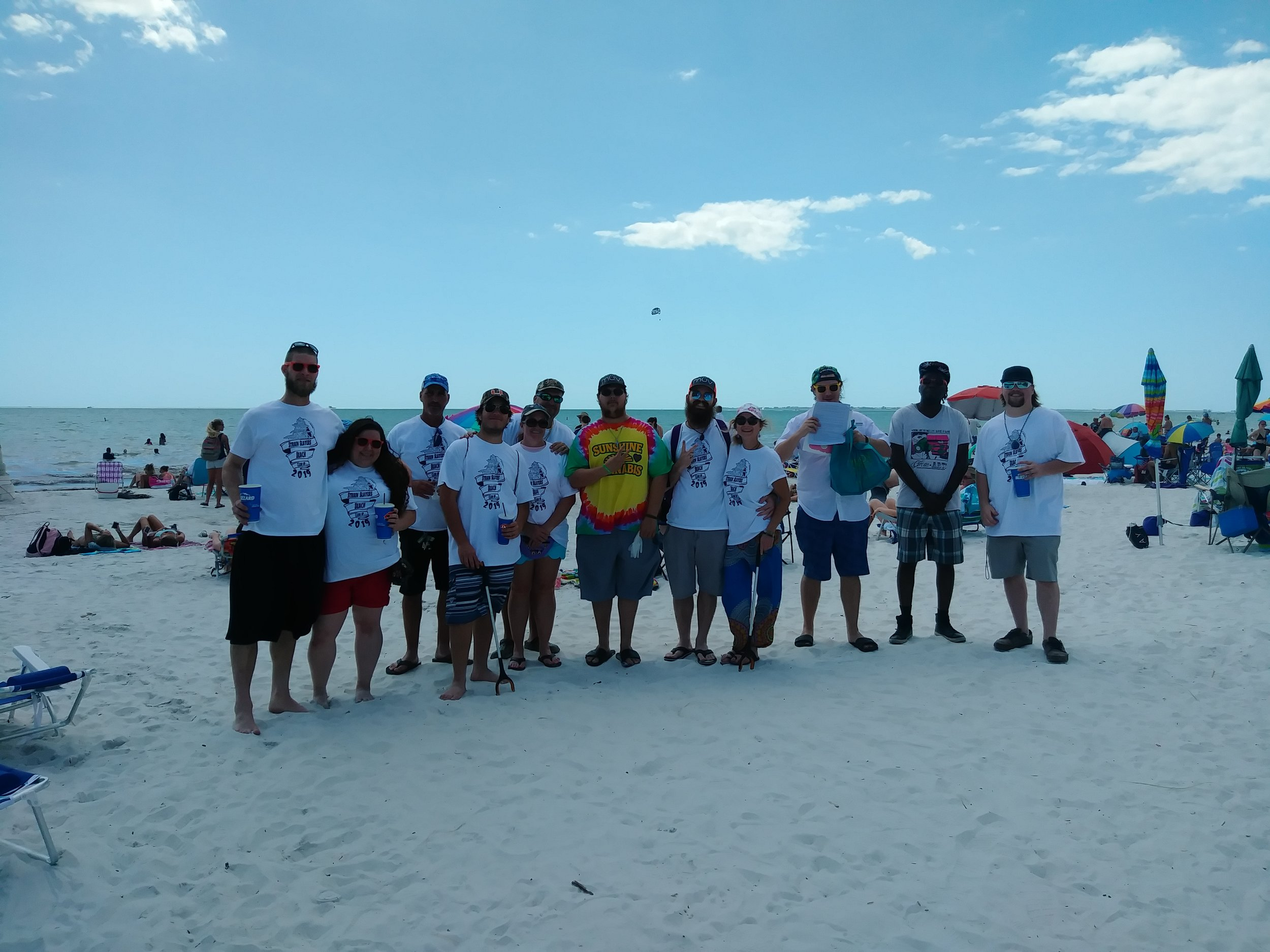 Strain Slayers Beach Clean-ups - 2019
