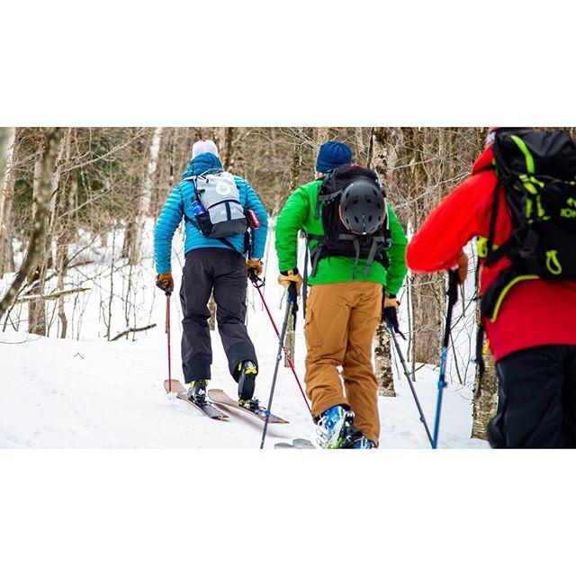 On the way up... . . . . #parlorbeyond #parlorskis #skitheeast #earnyourturns #skintowin #vtbackcountry #skivt #skivermont #ilovevt #getoutdoors #optoutside