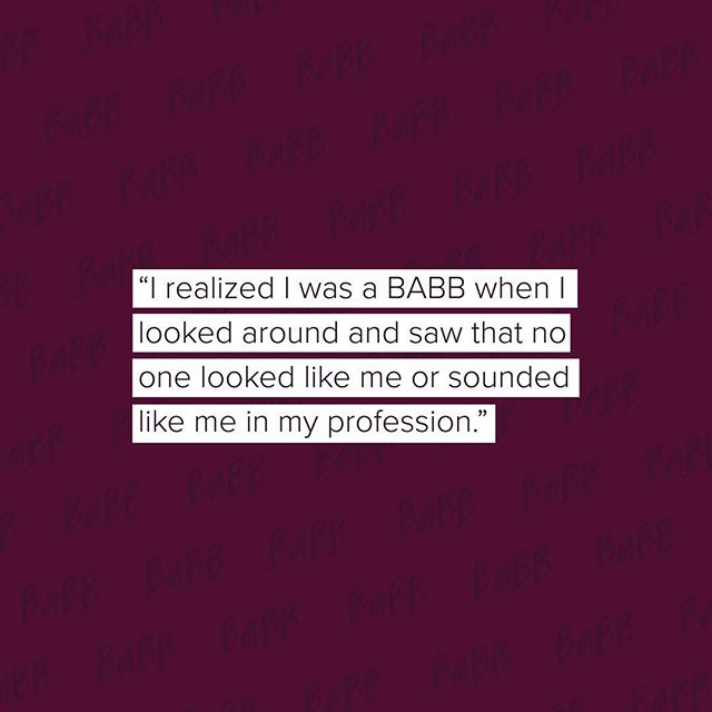 And so it inspired her to make a change and encourage more women to pursue careers in #engineering 👏👑. When did you know you were a #BABB? Tell us below. Xx, #TheBABBLife.