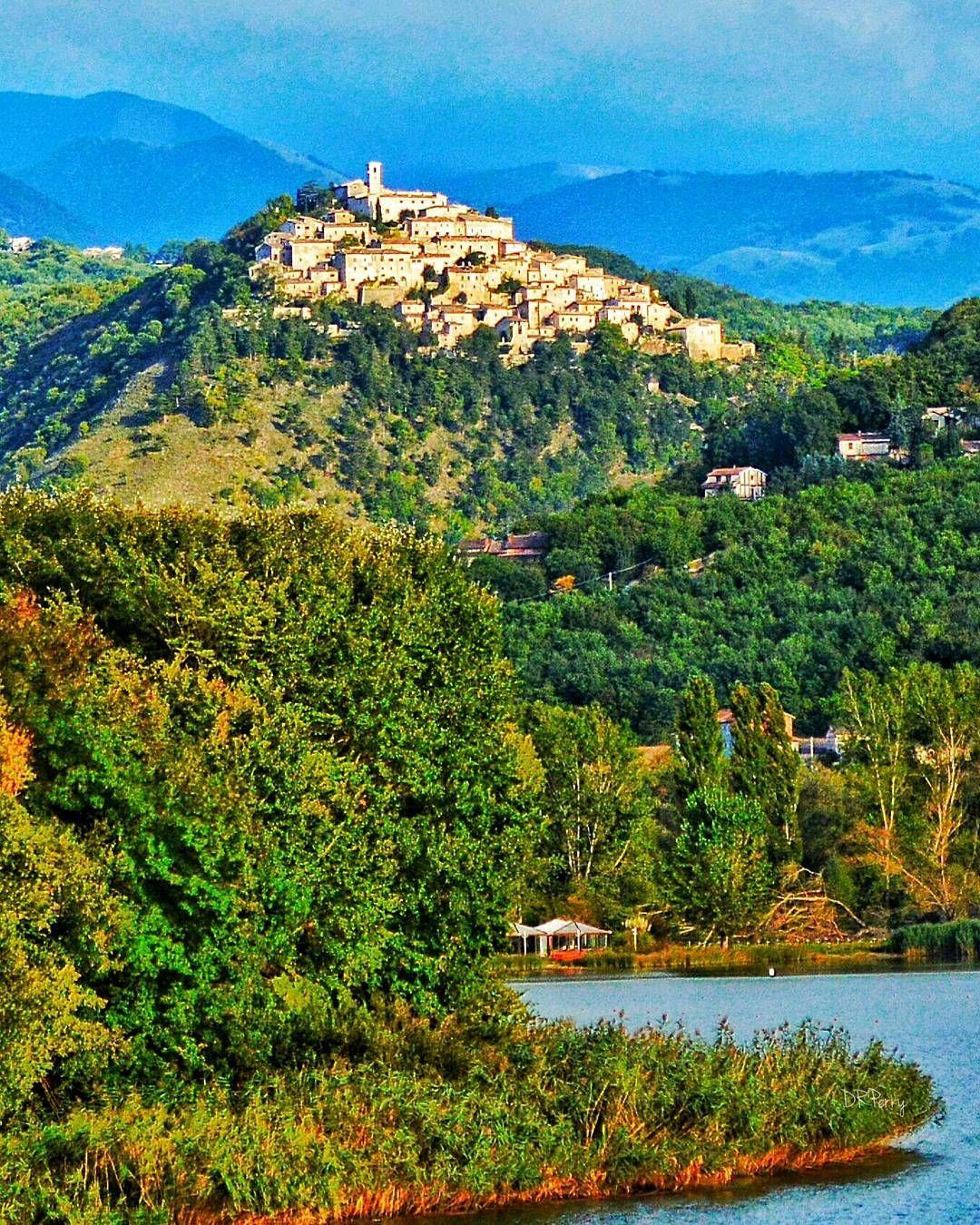 Village of Labro, Italy  -