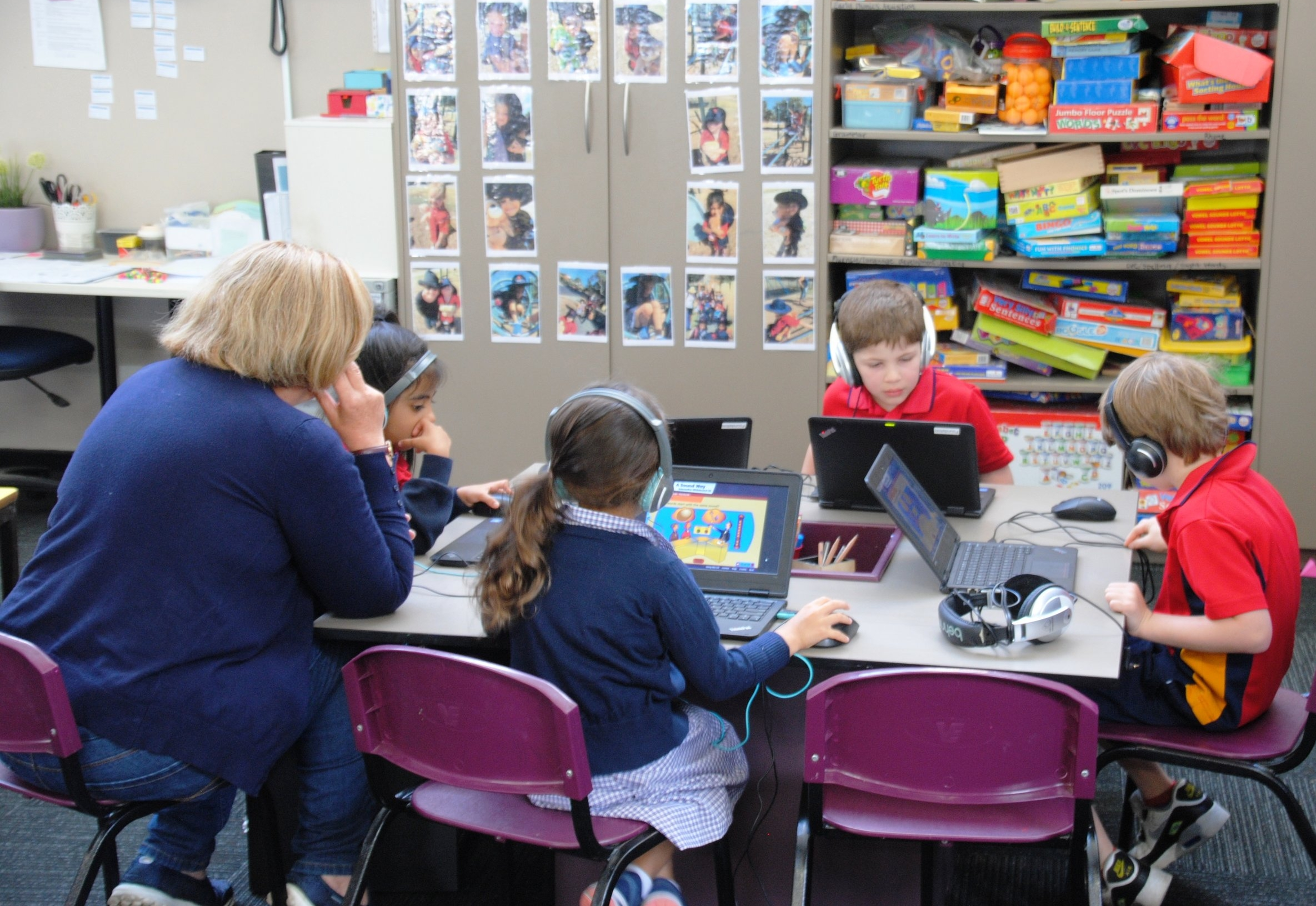 foundation students in literacy