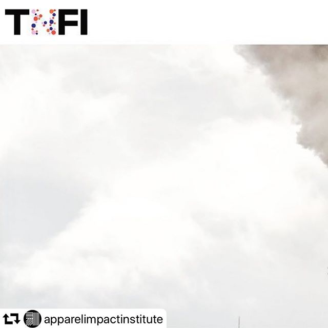 "Here's something most brand aren't talking about: Coal is still the dominant power used in textile mills, because coal provides the cheap energy and heat needed to power boilers. Changing this reality is going to be difficult, which means curbing fashion's climate impact is going to be difficult. Read my interview with Lewis Perkins of @apparelimpactinstitute #repost ・・・ Author @elizabethlcline sat down with our president, @lbperkins, for this illuminating interview about what Aii is all about, including some serious ideas about how to #decarbonize apparel. ""We know that 40% of the of the CO2 comes out of Tier Two suppliers. Generally, when we say Tier Two, we are talking about fabric prep, about dying and printing. It's the wet process. In this phase, we're using a lot of chemicals, we're using a lot of water, and we're getting it really, really hot. And in order to get that heat, you have to burn coal. That's generally the issue that we're trying to address here,"" says Perkins. Read full article here: https://thenewfashioninitiative.org/your-clothes-are-made-by-burning-coal-apparel-impact-institute/ #apparelmanufacturing #apparelbrand #fashion #sustainablefashion #fashiondesign #designthinking"