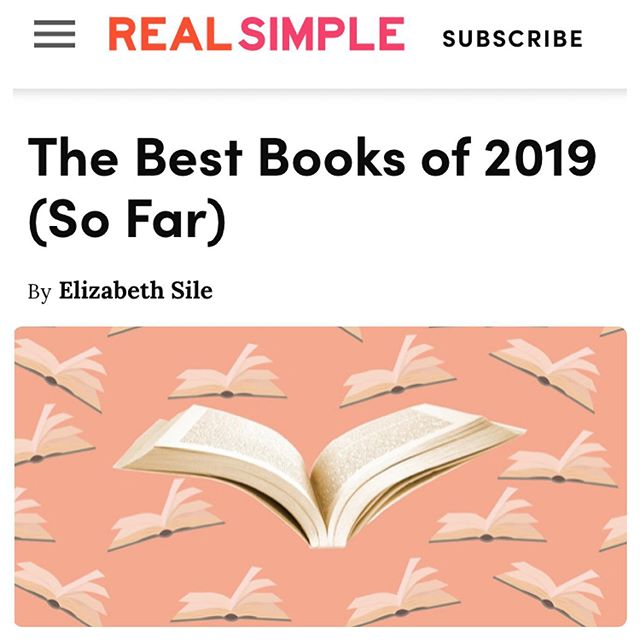 """Thank you to @real_simple for naming The Conscious Closet one of 2019's Best Books of the Year! Coming in at #9 and saying, """"Let Elizabeth L. Cline be your guide to shopping better—whether you're a minimalist or a fashionista—in her reassuring, resource-filled book, The Conscious Closet."""" #theconsciouscloset #consciousconsumer #theconsciousclosetbook #realsimple #bookstagram #bestbooksof2019 #summereading"""