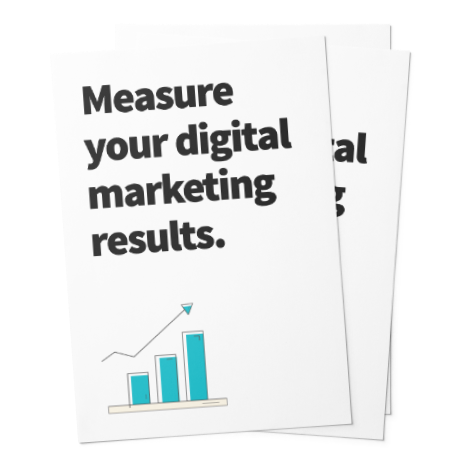 Get your free guide! - Sign up to my newsletter to receive your free guide on how to measure your digital marketing & social media results each month.