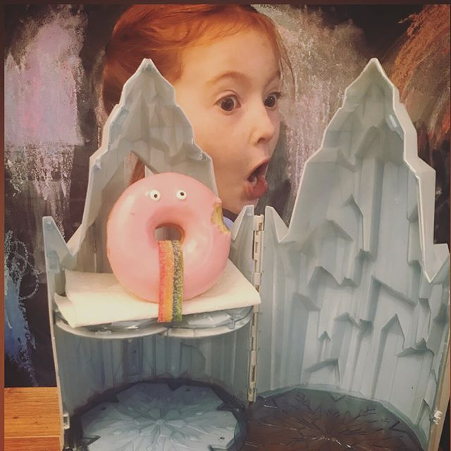 DoNut Kill My Vibe!! . Happy National Donut Day from our castle to yours!! . . #nationaldonutday🍩  #donutkillmyvibe  #adventureswithfloyd #celebrate #celebratethesmallthings #waystomyheart
