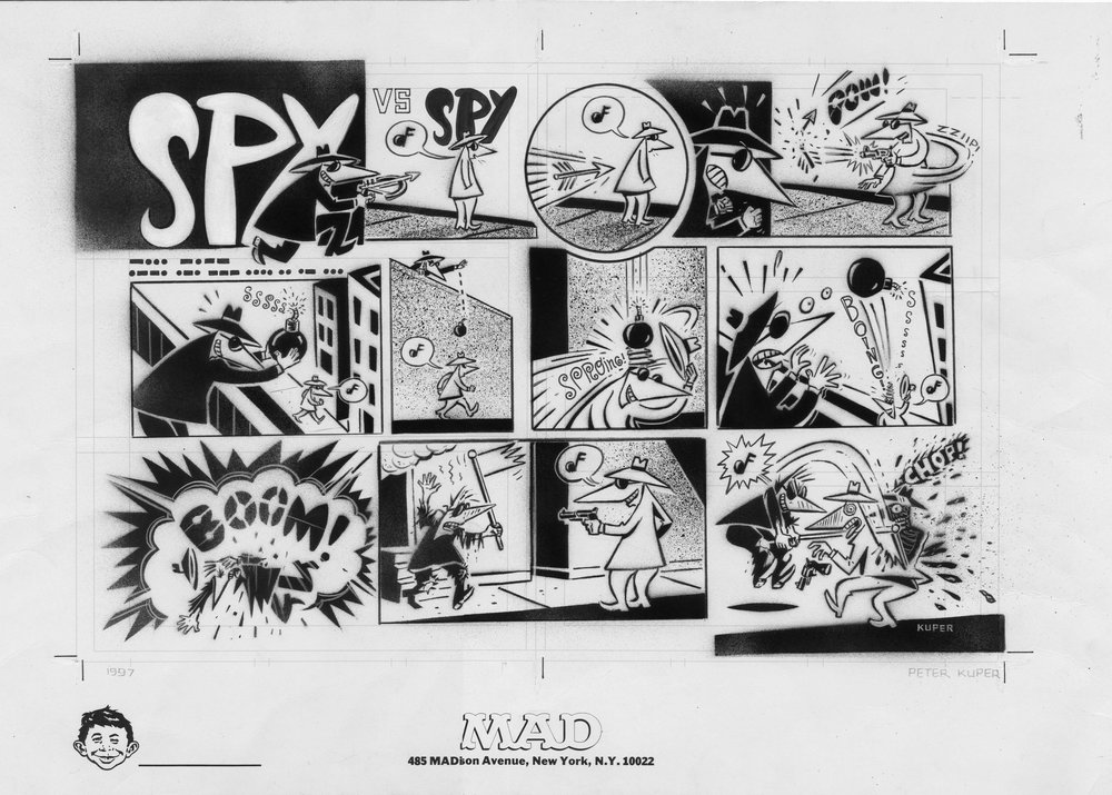 Spy vs. Spy Original Art