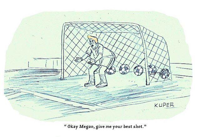 I never enjoyed soccer more.