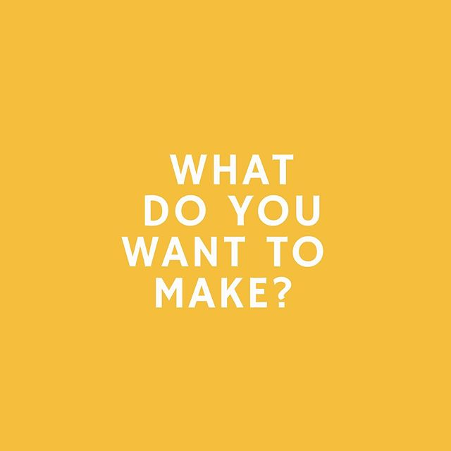 We're planning summer workshops and want to know what you want to make! Drop your suggestions in the comments or shoot us a DM!