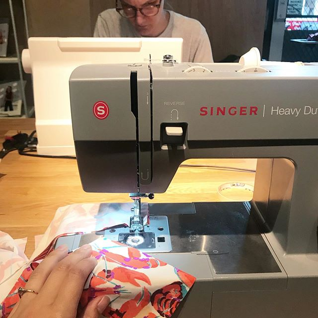ALL DAY SEWING THIS SUNDAY ☀️ bring a project and have a fun workday at Sew Shop. You will be able to use our machines and sewing supplies as well as get expert advice on all things sewing. This is a great opportunity to get a lot of sewing done in a fun and supportive environment. Click the link in profile to reserve your spot ☺️