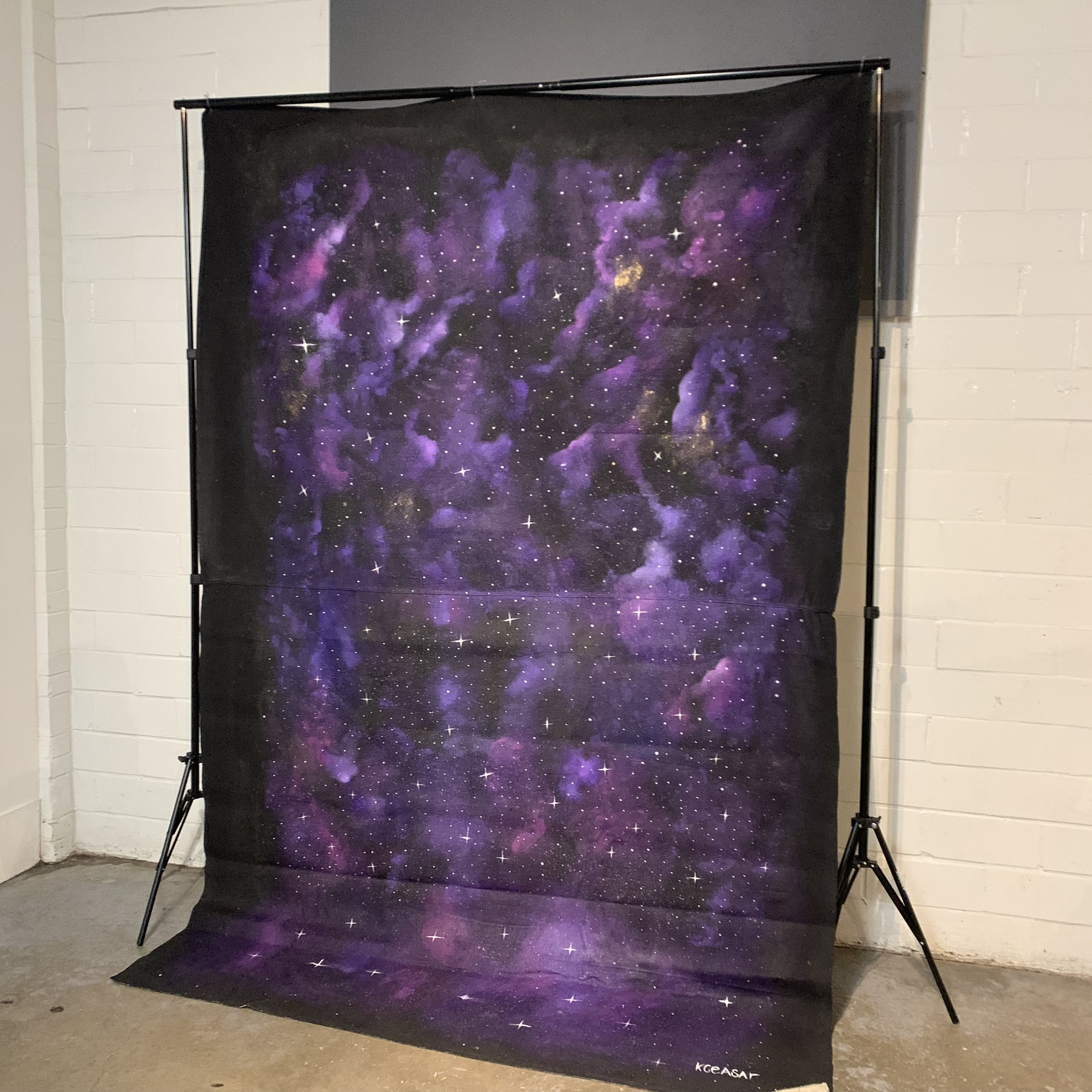Hand painted backdrop