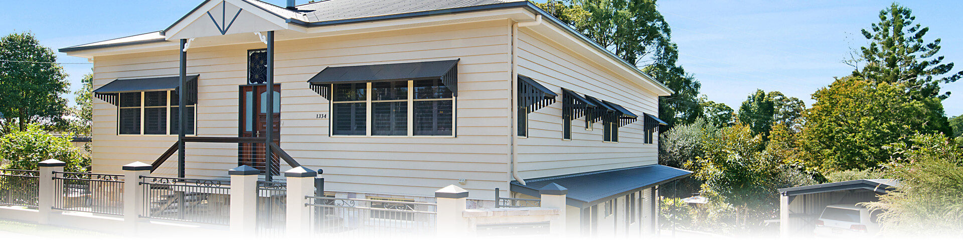 The Guesthouse from Landsborough-Maleny Road