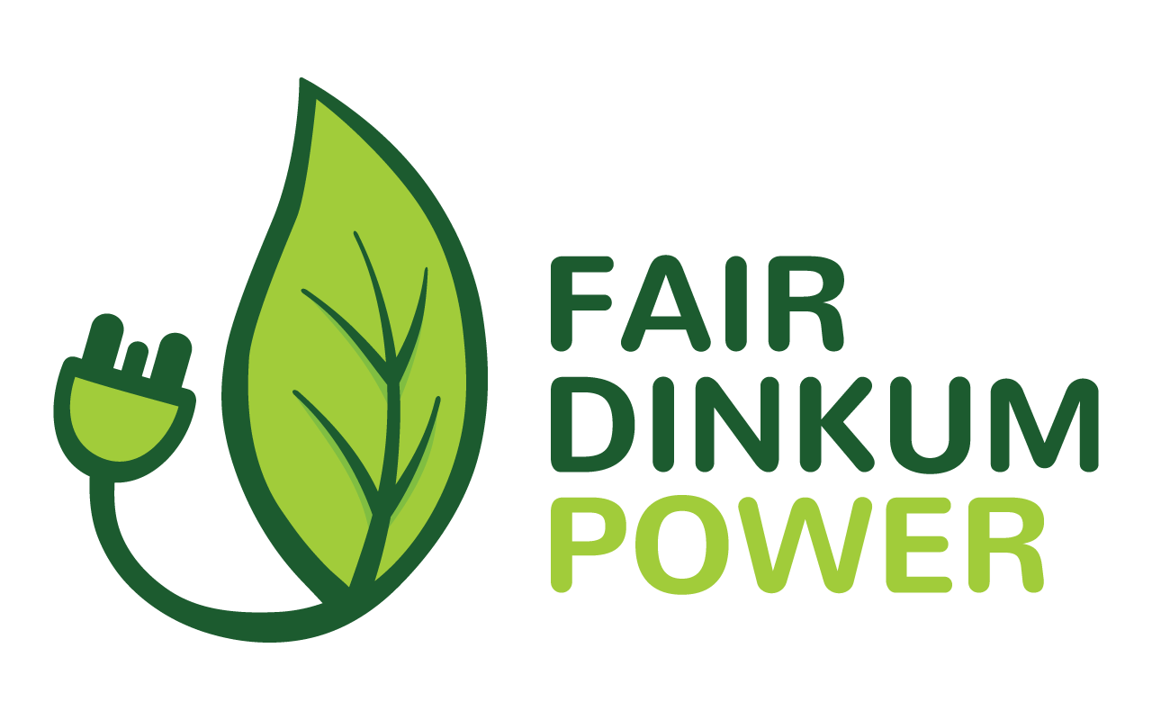 Spread the word - Download the Fair Dinkum Power brand assets and help spread the word!