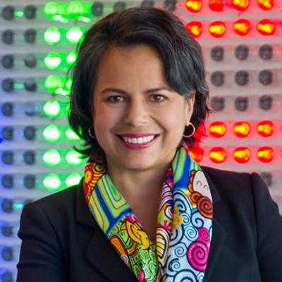 Mónica Gómez - Head of Agencies/ insights & Measurement, Colombia & Central America, Google - Anteriormente lideró el equipo de Starcom y MediaVest Colombia compañías del grupo Publicis. Participó en la creación de Mobext en Colombia liderando la estrategia móvil para los clientes de Havas Media Group. Desempeñó en Telefónica cargos gerenciales y directivos en áreas como e-Business, m-learning e Inclusión Digital. Pionera del ecosistema digital para UOL y Starmedia en el inicio de la era digital. Presidente del jurado de Young Lions Media en 2016, hace parte de la junta directiva de TIC4Good.