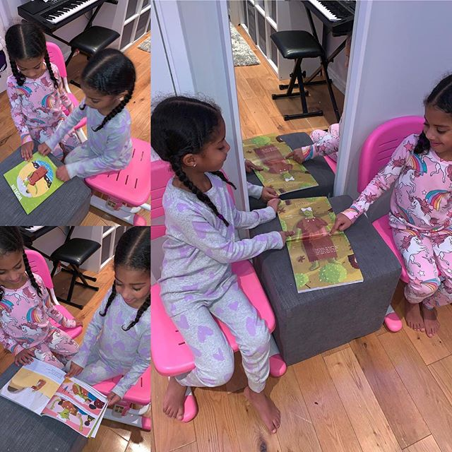 "🎉🎉HAPPY FRIDAY! 🎉🎉 Woblin is in Chingford having lots of fun with 5 year old twins, Nahla & Ava! The book was purchased as a Christmas present and we are told they haven't put it down! 😁  We asked for a mini book review and Ava says, ""LOVE IT, LOVE IT, LOVE IT! I felt really sad for Woblin but then it was all ok and she doesn't have bad dreams anymore."" Aww! Love this! Thanks so much for sending this to us. Please keep these coming, we love seeing where Woblin is! It is lovely to see the impact the story is having on children of all different ages.  Head to www.dreamybooks.co.uk for more info!  Have a wonderful weekend, Dreamy people! 💚💚💚 #WhereIsWoblin #bookstagram #booksforkids #kidsbookstagram #rhyming #poetry #picturebook #illustration #friendship #selflove #bodypositive #kindness #diversity #inclusion #kids #family #reading #review #books #kidsbooks #onlineshop #bookshop #independent #indiebooks #art #children"