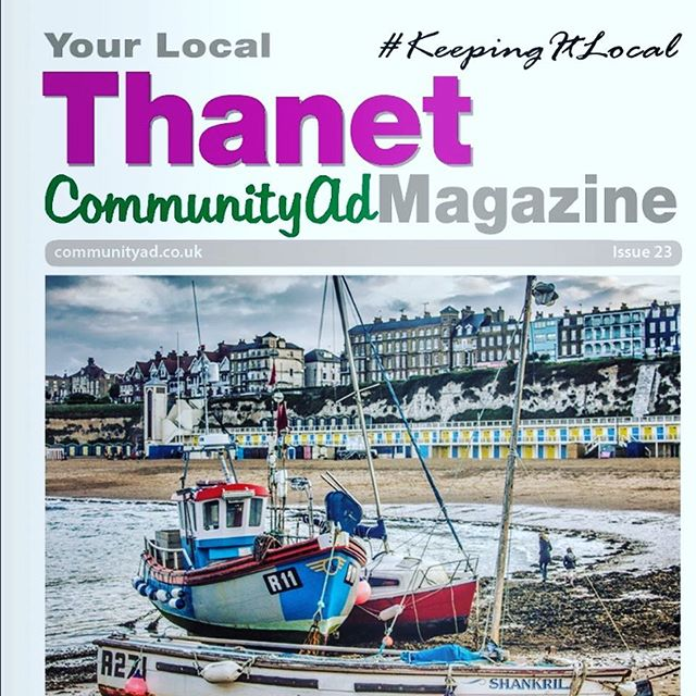 Aaaaand the Thanet edition of Community Ad is OUT! Delivered to over 30,000 homes in the local area, we hope you enjoy our double page Woblin interview!  Thanks again for all the support @communityad - You are the best! 🤩💚🤩💚🤩 👉🏻 https://www.communityad.co.uk/thanet👈🏻 #readallaboutit #news #local #localnews #thanet #margate #ramsgate #broadstairs #childrensbooks #picturebook #interview #article #feature #kent #booksforkids #indiebooks #inclusion #kindness #friendship #spreadpositivity #keepingitlocal #community
