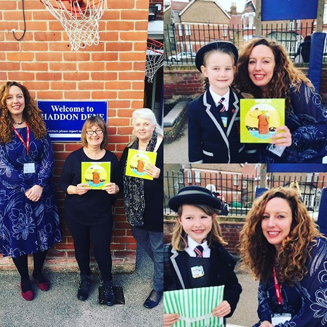 What a wonderful afternoon! A huuuge thank you to #HaddonDene Preparatory School in Broadstairs for inviting me in as part of their Book Week celebrations in the build-up to #WorldBookDay . I spent the afternoon visiting each year group and did a reading of Woblin, followed by a Q&A session with each class.  The school could have not been more welcoming and the pupils were just so kind and enthusiastic! Woblin went down a storm, which lead to a busy book signing session in the playground! Thank you so much to all the parents who supported Woblin and a special mention to Mrs Nicholass for organising such a brilliant afternoon.  I haven't stopped smiling and feel all warm inside imagining Woblin with all her new friends! 💚💚💚 Get in touch if you would like Team Dreamy to visit your school! 💚  #school #prepschool #broadstairs #reading #picturebook #readaloud #booksigning #signing #childrensbook #kidslit #kidsbookstagram #childrensliterature #bookstagram #indibooks #children #thanet #community #support #inclusion #selflove #kindness #diversity #local #primaryschool #kent