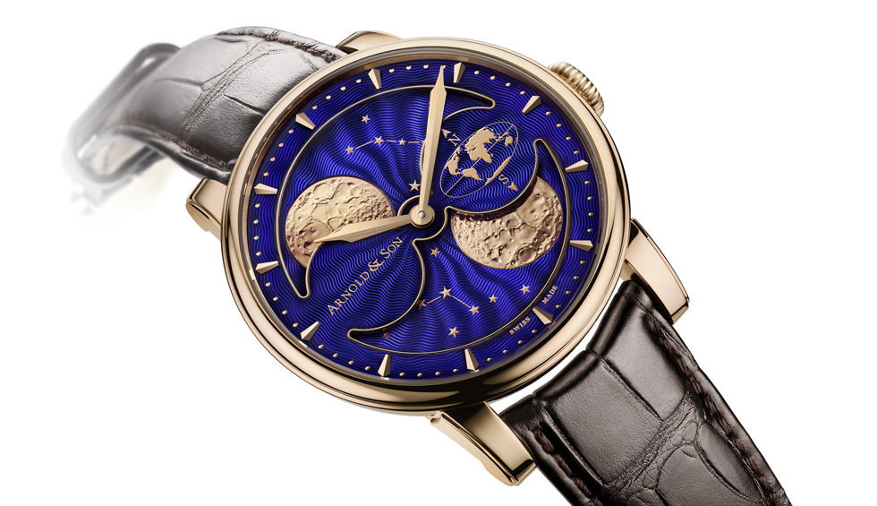 the Arnold & Son Double Hemisphere Perpetual Moon