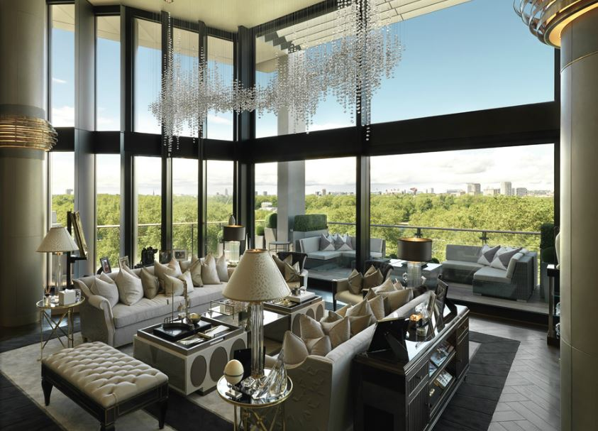 The most expensive London apartment on record.