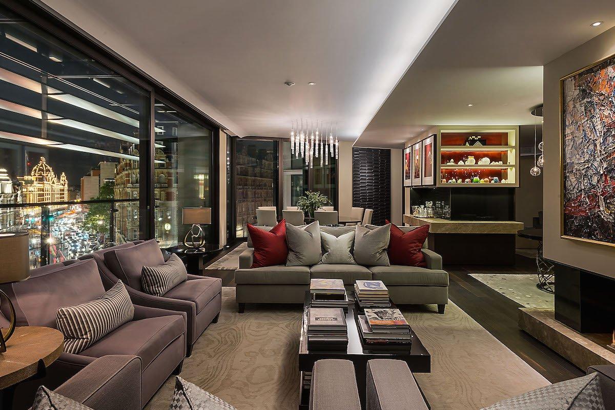 8. One Hyde Park, Knightsbridge, SW1X — £18.95 million