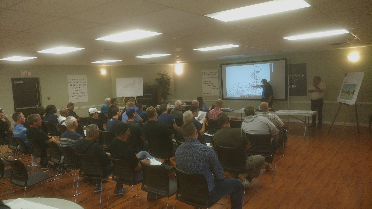 Sub-contractor information meeting