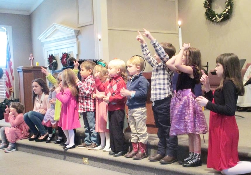 Children and Youth - Children are welcome to attend all of Sunday worship, or can go to the nursery (up to age 5) or attend Children's Church (K-3) after their special time with the pastor, early in the worship service.  Click to read more about our Children and Youth programs.
