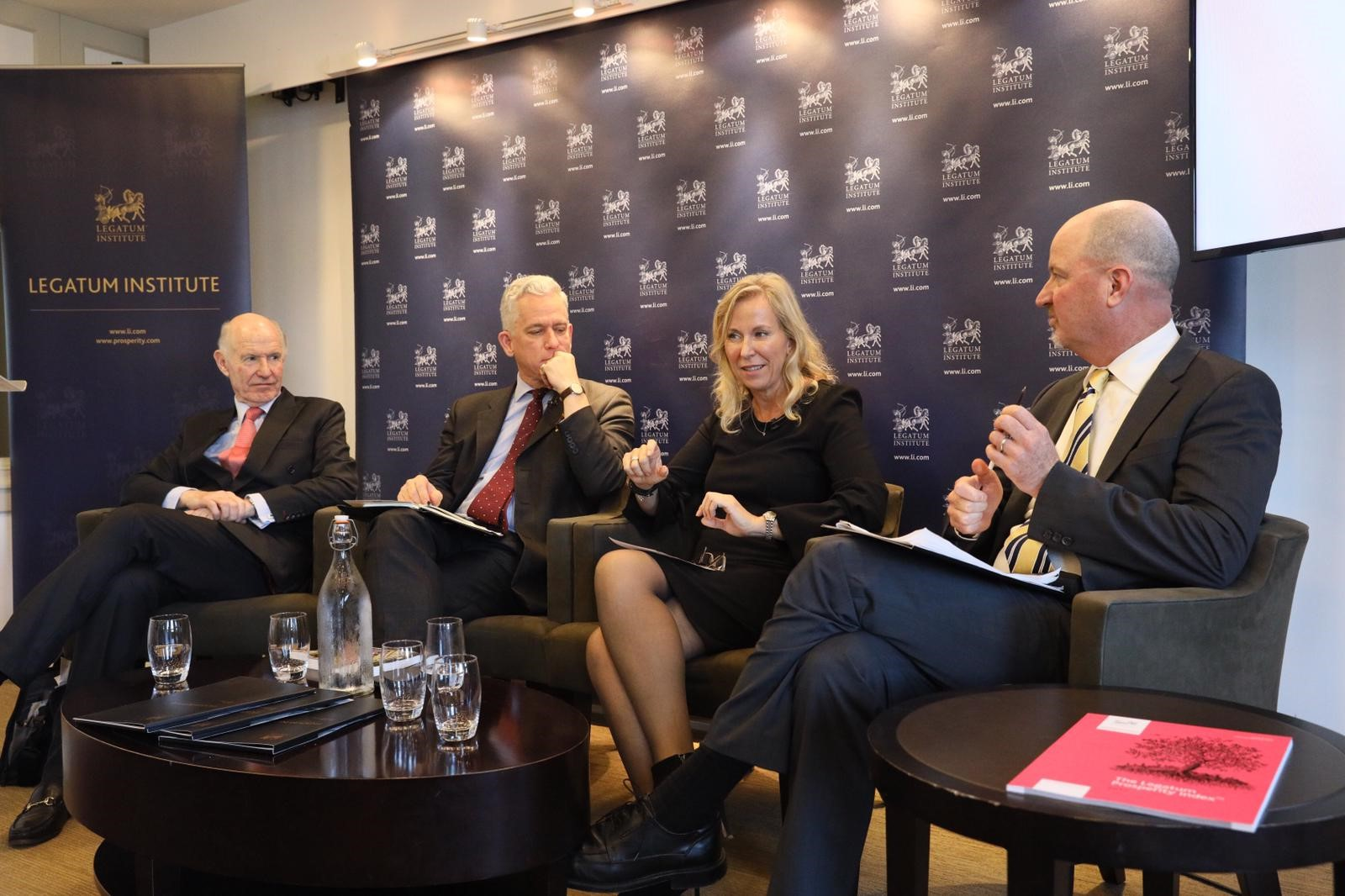 Pam Bateson, CEO, speaking at the Legatum Institute (2018)
